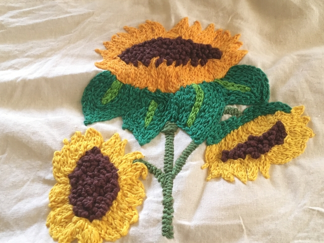 Gertrud's sunflowers